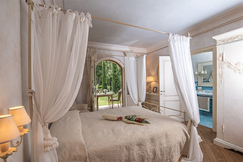 The rooms of our relais with SPA and wellness center in Tuscany